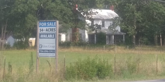 Alexander Farm property at Westmoreland and Catawba