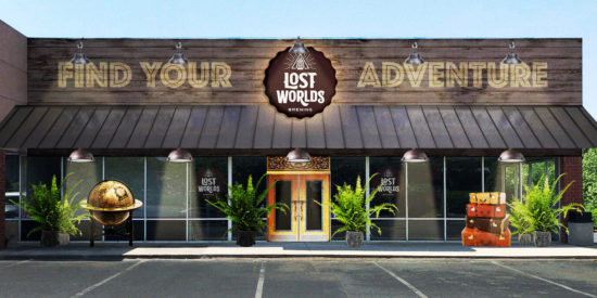 Lost Worlds Brewery Front Rendering 750