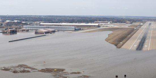 Coastal flooding. Photo credit: National Oceanic and Atmospheric Administration