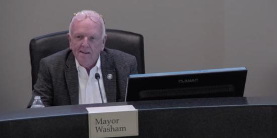 Mayor Woody Wahsam
