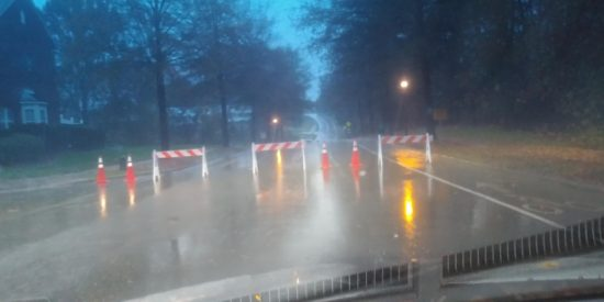 BAILEY ROAD CLOSED 8 AM THURSDAY