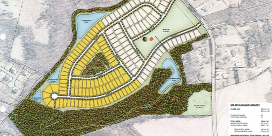 Mayes Road project site plan