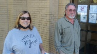 Lori Aschenbrand and Sid Morris at Town Hall