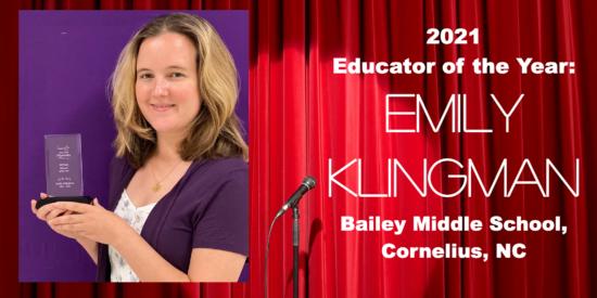 Emily Klingman: NCTAE top winner